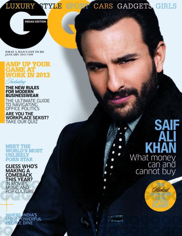 GQ India - jan 2013