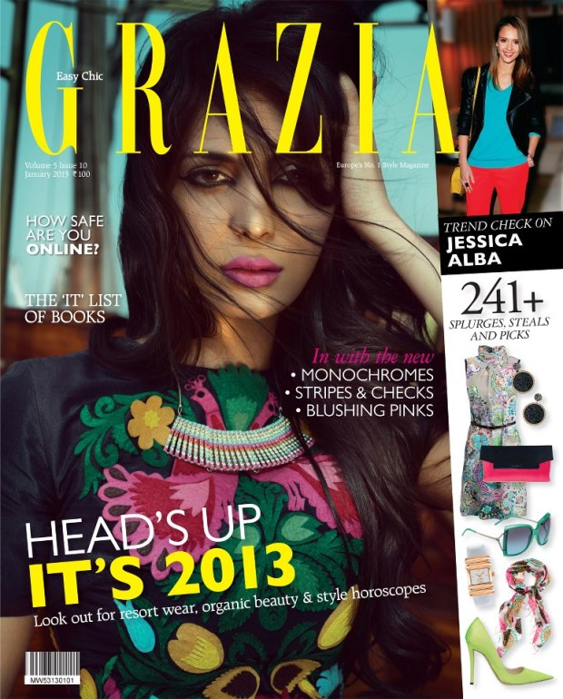 Grazia India Jan 2013