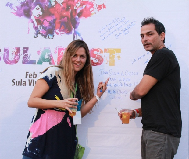 Chef Silvia Grimaldo_ Vinoteca by Sula along with Nicolo Morea at SulaFest 2013