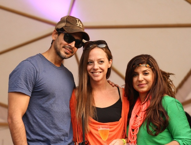 Dino Morea_ Cecilia Oldne, Global Brand Ambassador, Head - International Business and Babita Malkani at SulaFest 2013