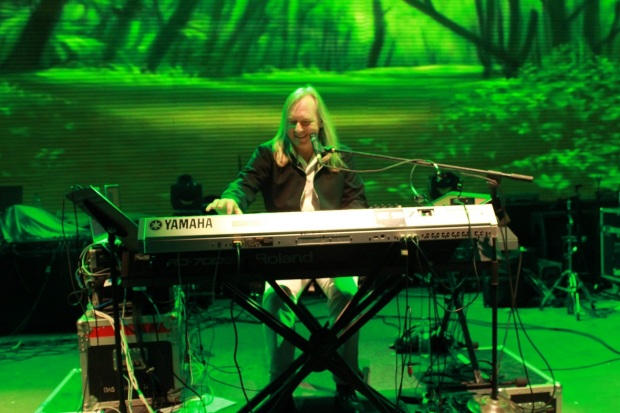 Eric Moquet from Deep Forest Live performing at SulaFest 2013