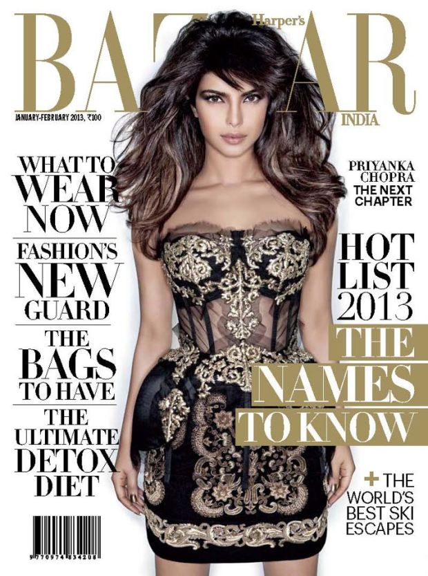 Harpers Bazaar India Jan 2013