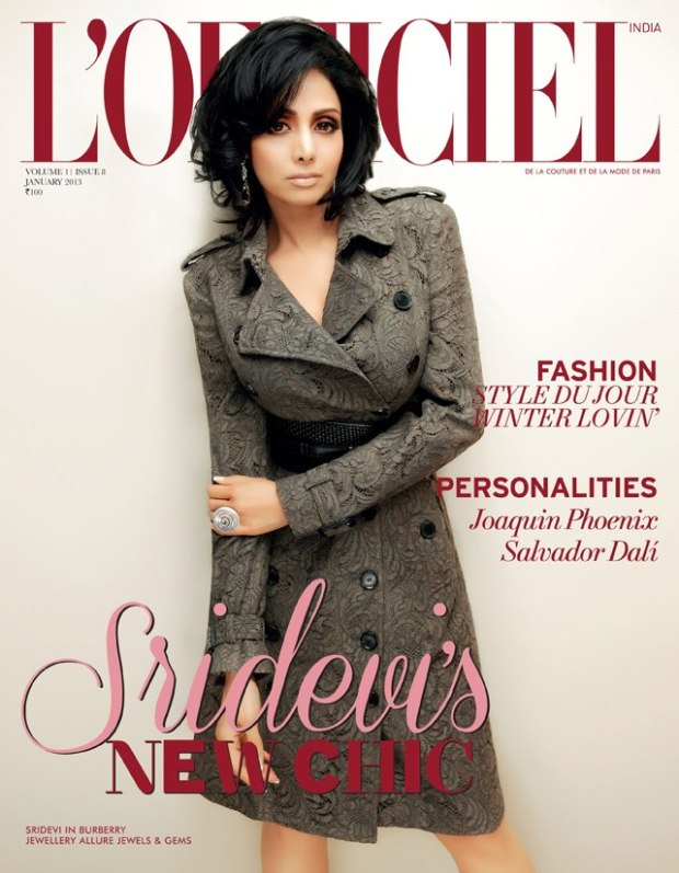 L'Officiel India Jan 2013