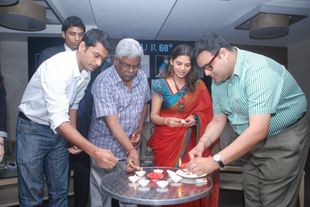 Participation in the Earth Hour 2013 by Sonnet Hotel and Media Connect - with Kalyan Choubey, Ankit Agarwal, Debashish Jana, Sudipta Chakroborty and Sujoy Chatterjee(from Left to Right) (Copy)