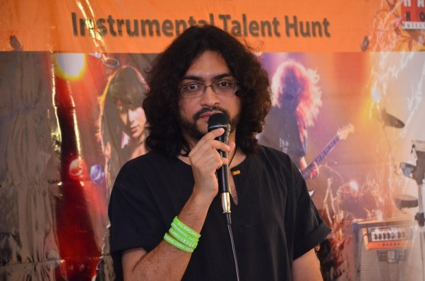 Rupam Islam at the Press Meet and Launch of Roland School of Music Japan at Happy Hours