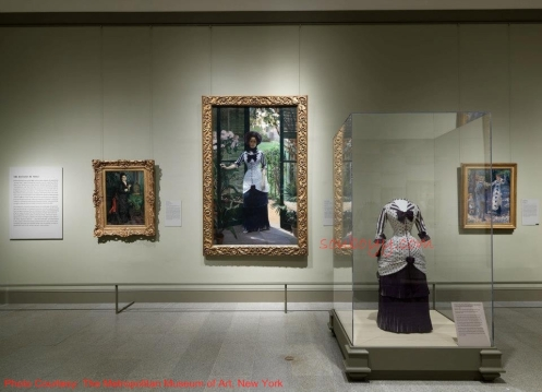 Gallery Five—The Dictates of Style - Impressionism, Fashion, and Modernity - Lane Rasberry Das - SouBoyy - Sourendra Kumar Das - The Metropolitan Museum of Art, New York