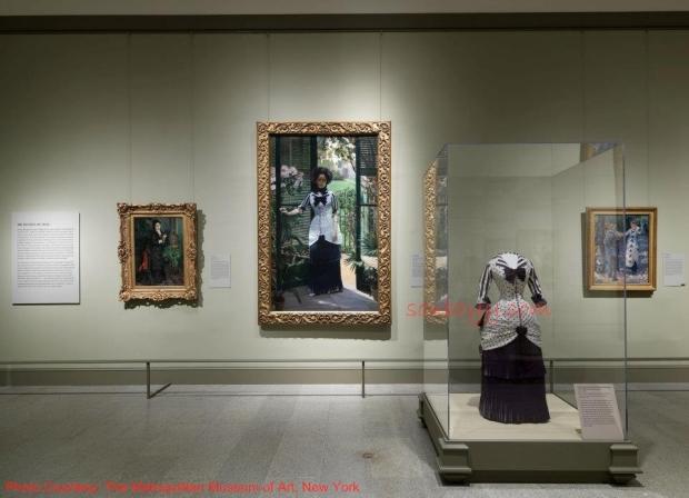 Gallery Five—The Dictates of Style - Impressionism, Fashion, and Modernity - Lane Rasberry Das - SouBoyy - Sourendra Kumar Das - The Metropolitan Museum of Art, New York