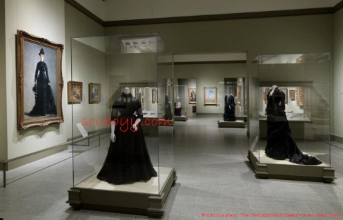 Gallery Four—The Black Dress - Impressionism, Fashion, and Modernity - Lane Rasberry Das - SouBoyy - Sourendra Kumar Das - The Metropolitan Museum of Art, New York 001