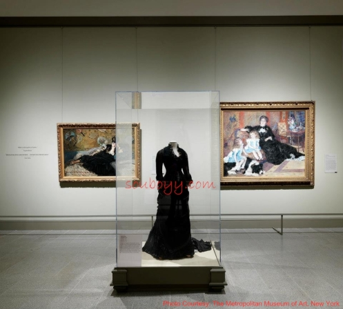 Gallery Four—The Black Dress - Impressionism, Fashion, and Modernity - Lane Rasberry Das - SouBoyy - Sourendra Kumar Das - The Metropolitan Museum of Art, New York