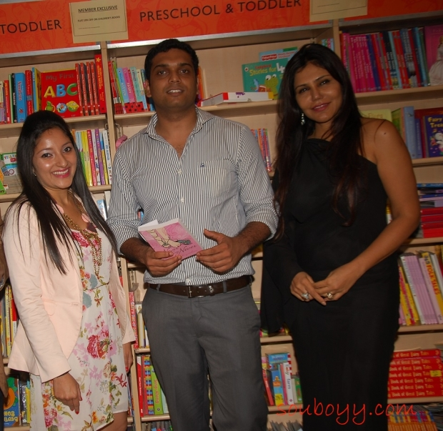 Anjali Kirpalani (Author of the book), Sachin Garg (Founder Grapevine Publishing India. Nisha JamVal (Interior Architect and Columinst)