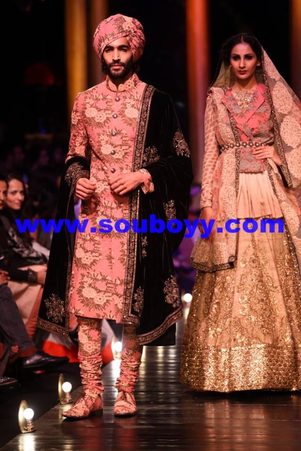 In SabyaSachi Mukherji at Lakme Fashion Week Grand Finale, by Sou Boyy, Sourendra Kumar Das