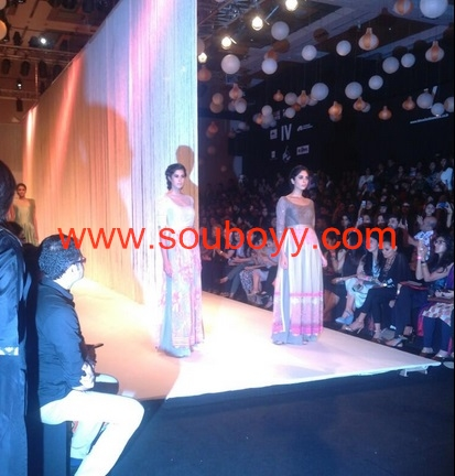 Manish @ Lakme Fashion Week - SouBoyy captured the unique embroidery of MM