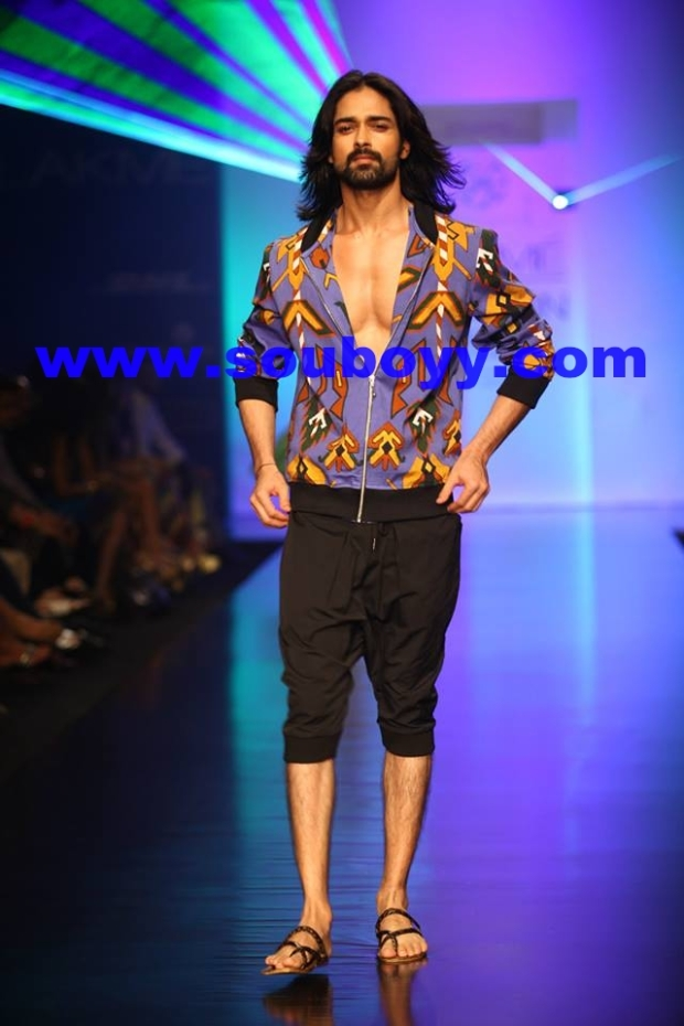 Pria Kataria Puri's show, walks Amit Ranjan at Lakme Fashion Week, by SouBoyy, Sourendra Kumar Das