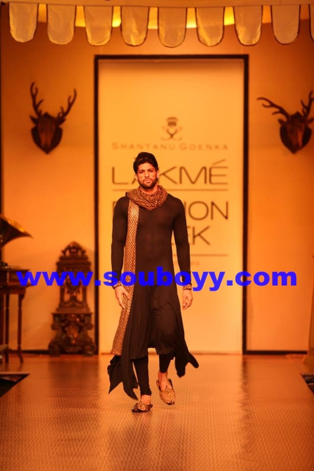 Shantanu Goenka's KRUHUN at Lakme Fashion Week, Winter Festive - Day 2 by Sou Boyy, with Sourendra Kumar Das at Grand Hyatt Mumbai.