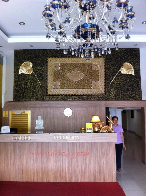 Sou Boyy stayed at Anil Bhandari's Diamond Residence in Thailand
