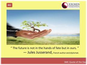 March 25, 2014, Dubai - SMC Quote of the Day