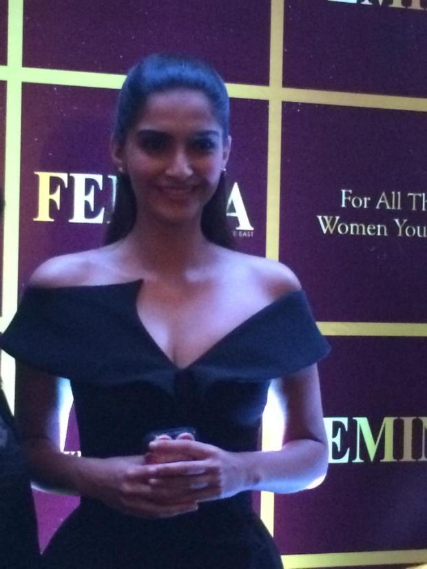 Sonam Kapoor at the launch of Femina Middle East
