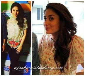 Kareena kapoor-Pankaj nidhi- Singham Returns