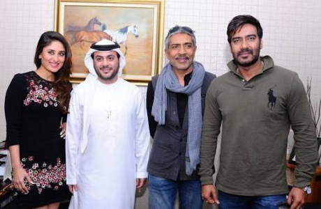 Sou Boyy - Kareena Kapoor and Ajay Devgan Promote Satyagraha In Dubai