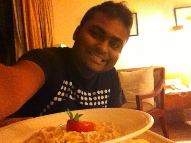 SOUBOYY - PASTA FOR DINNER AT ITC SONAR