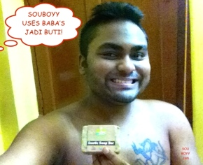 SOUBOYY USES BABA'S JADI BUTI - EXOTIC SOAP BAR