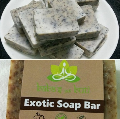 babaji's exotic soap bar