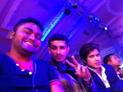 SouBoyy - bad boyyz @blenders kolkata #BPFTMYSTYLE — with Akbar Hasan and Bassam Mallick at The Oberoi Grand Hotel Kolkata.