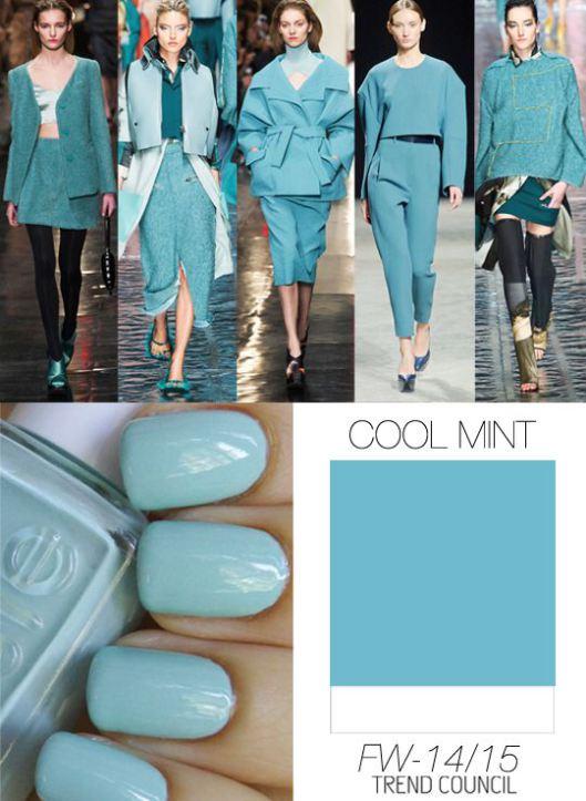 Trend Council FW1415_Color Cool Mint