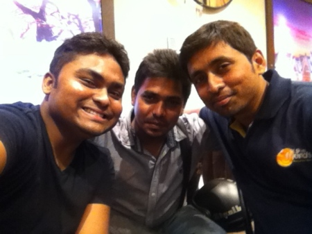 Sou, Rakesh, Animesh at AJ's Home Couture - SouBoyy Image
