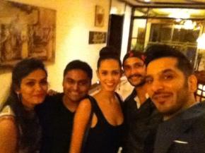 Sou with Nitin Mirani and Madhu Sneha