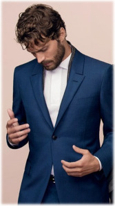 Raja Fashions Blog - Jamie Dornan for Ermenegildo Zegna