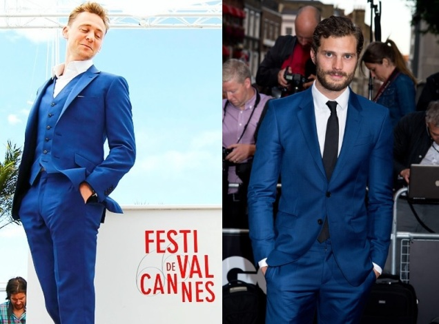 RF - Bright Cobalt Blue Suit - Red Carpet