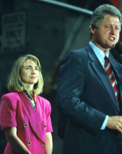 Hillary at 1992 - Bill Clinton's Presidential Campaign